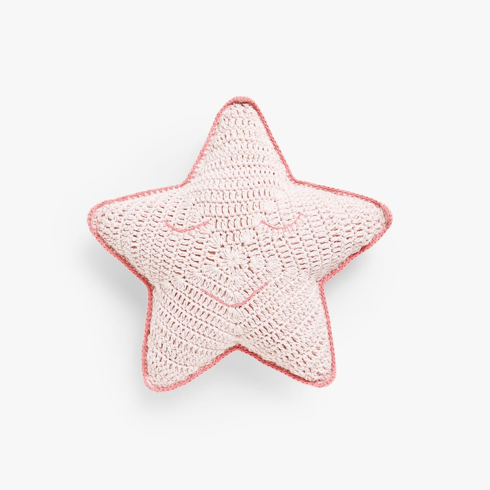Cuscino stella crochet Kids