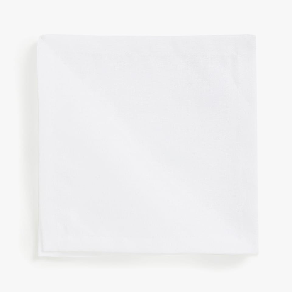 LINEN AND COTTON NAPKINS (SET OF 4)