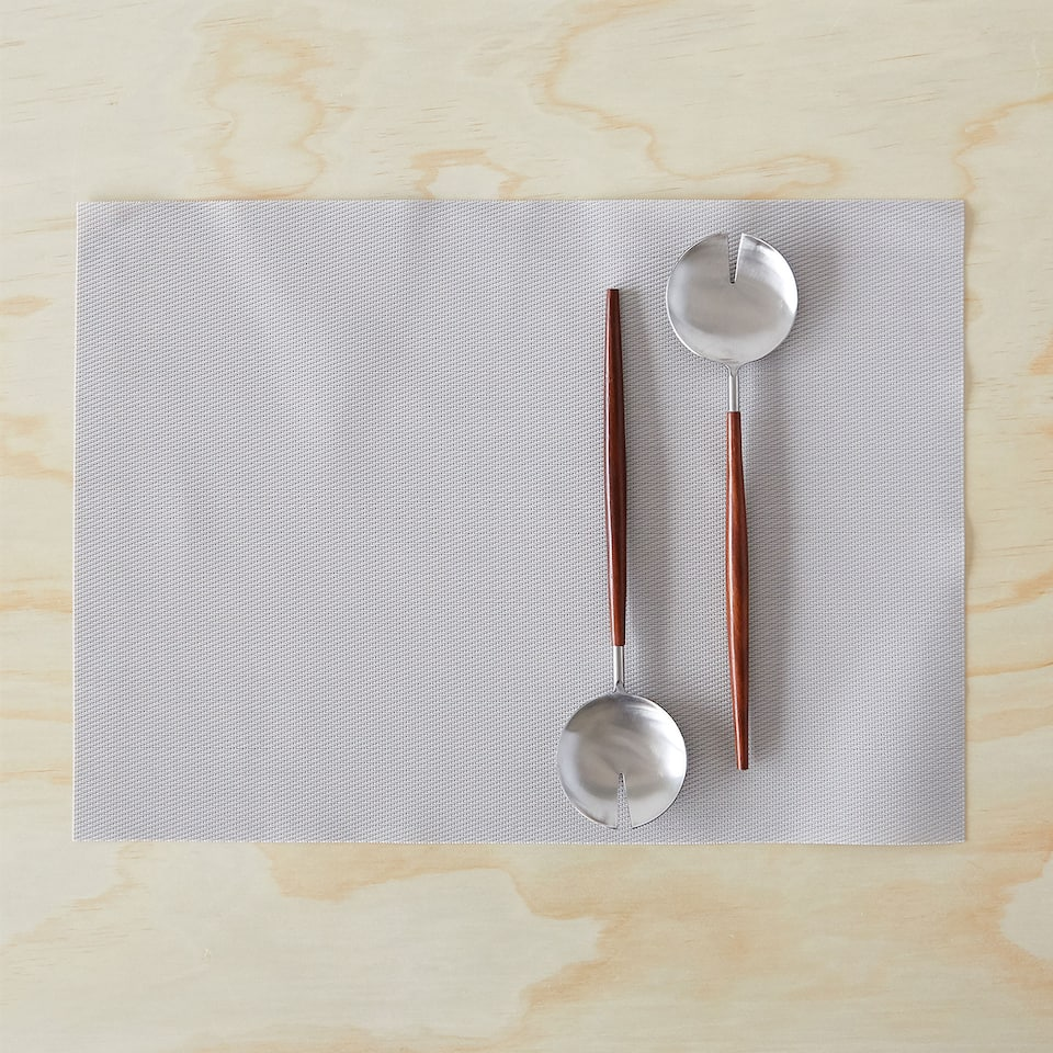 Set de table basic plastique (lot de 2)
