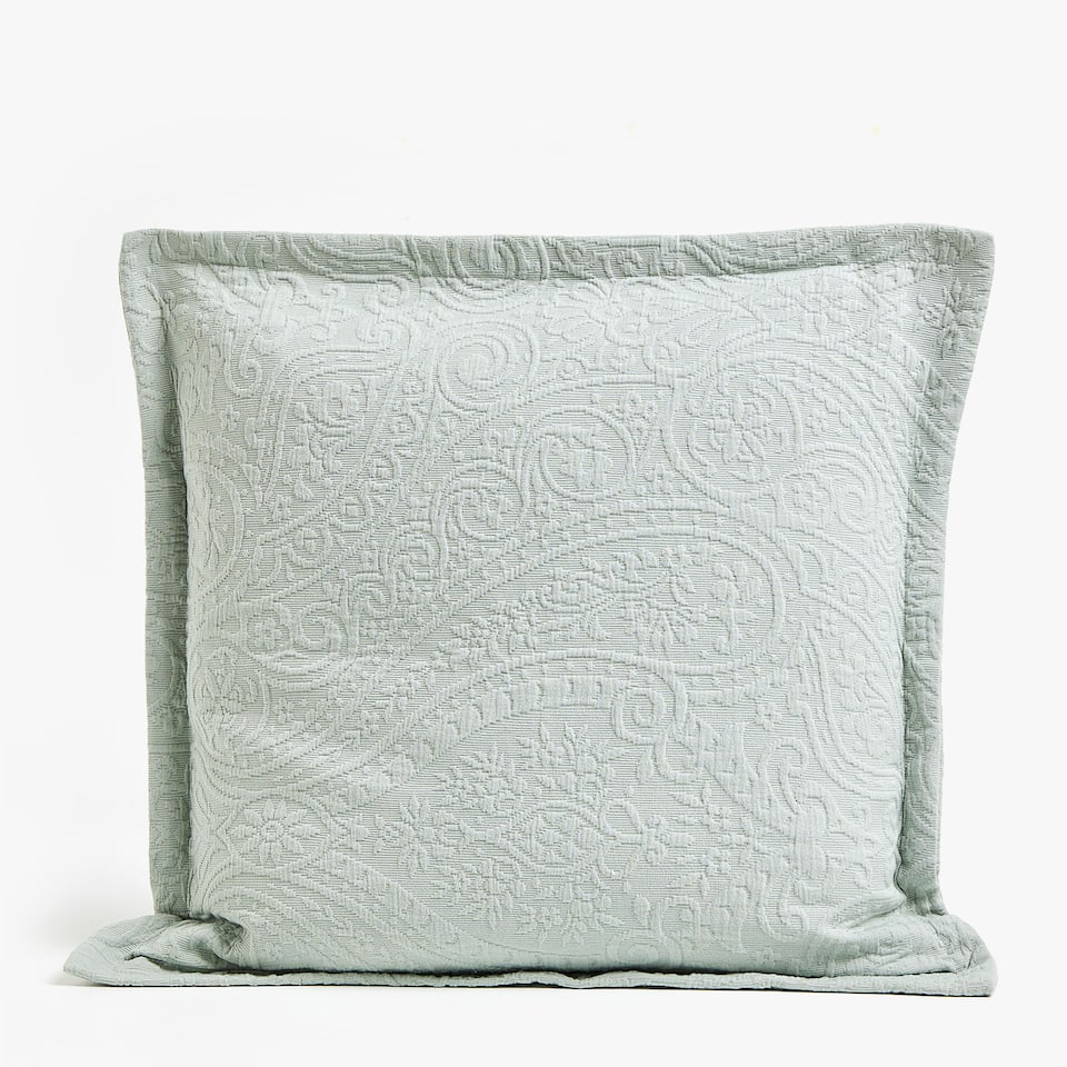 PAISLEY COTTON CUSHION COVER