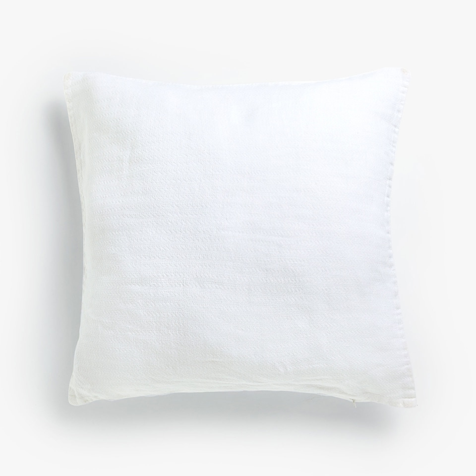 MINI HERRINGBONE LINEN CUSHION COVER