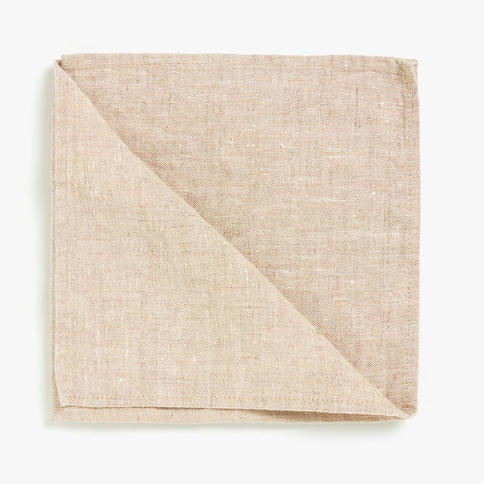 WASHED LINEN NAPKINS (SET OF 4)