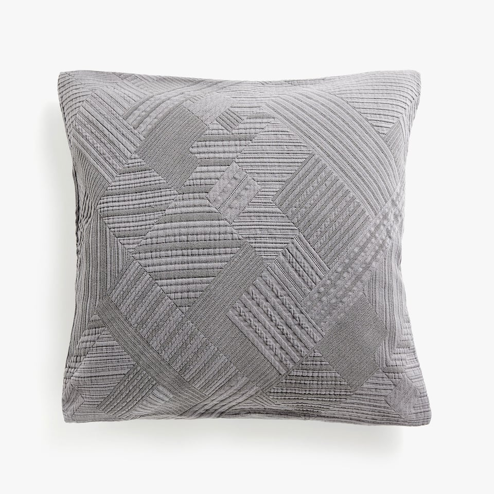RECTANGULAR DESIGN CUSHION COVER