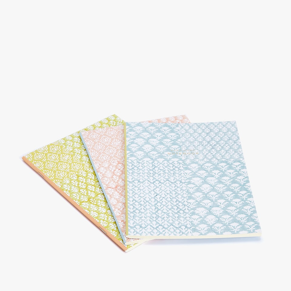 Printed notebook (set of 3)