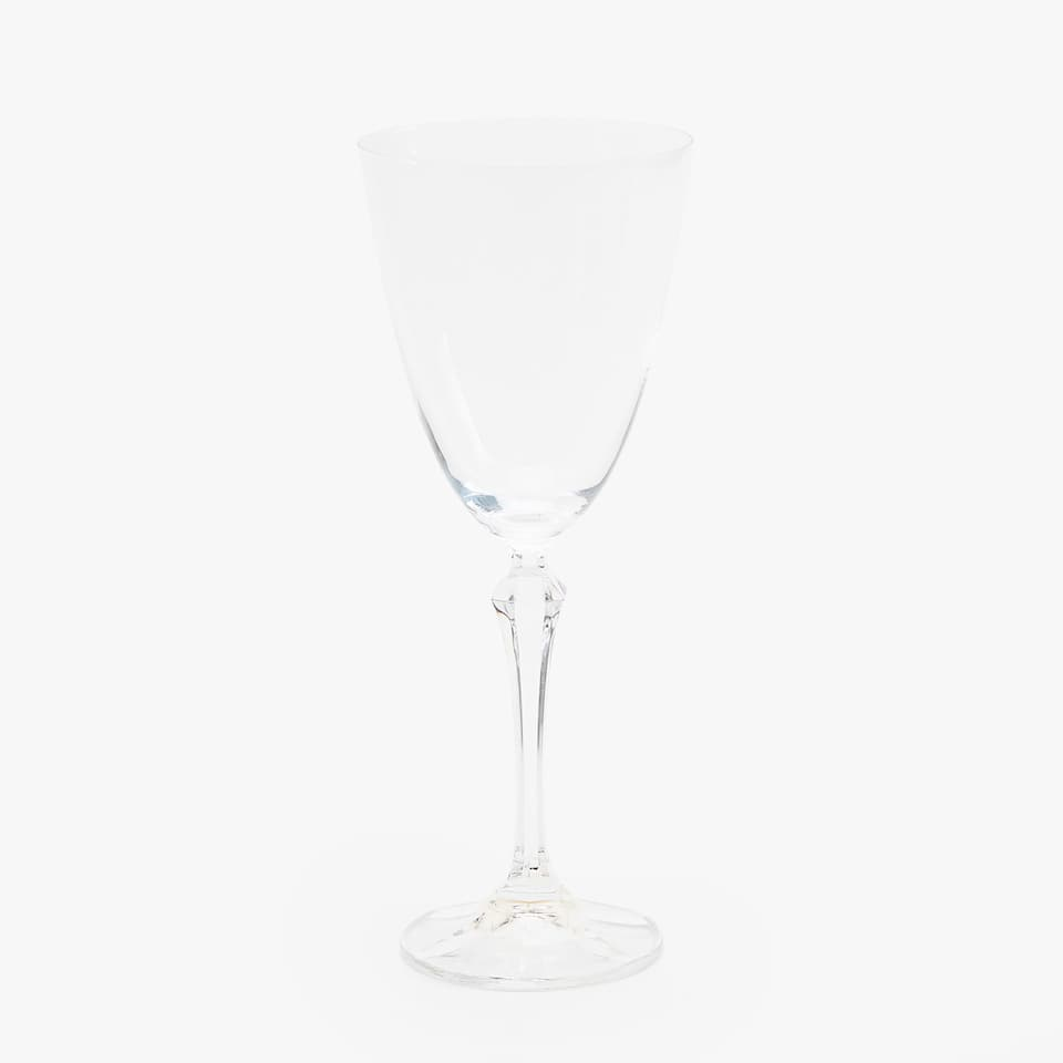 SOLID CHRYSTALLINE WINE GLASS