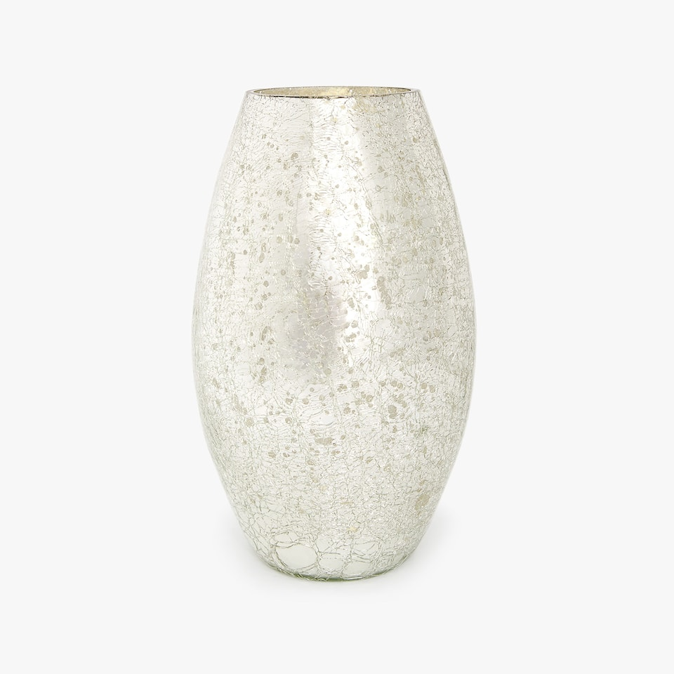MERCURISED VASE