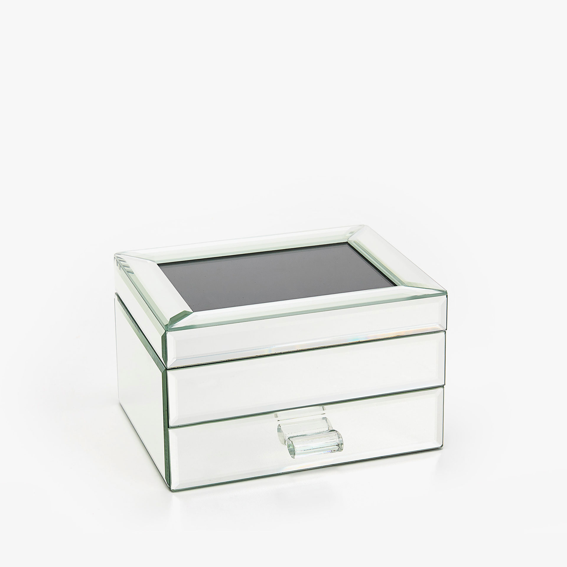 + Image 1 Of The Product MIRRORED JEWELLERY BOX WITH COMPARTMENTS