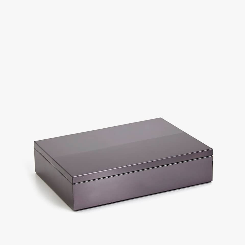 DOUBLE-FINISH METAL BOX