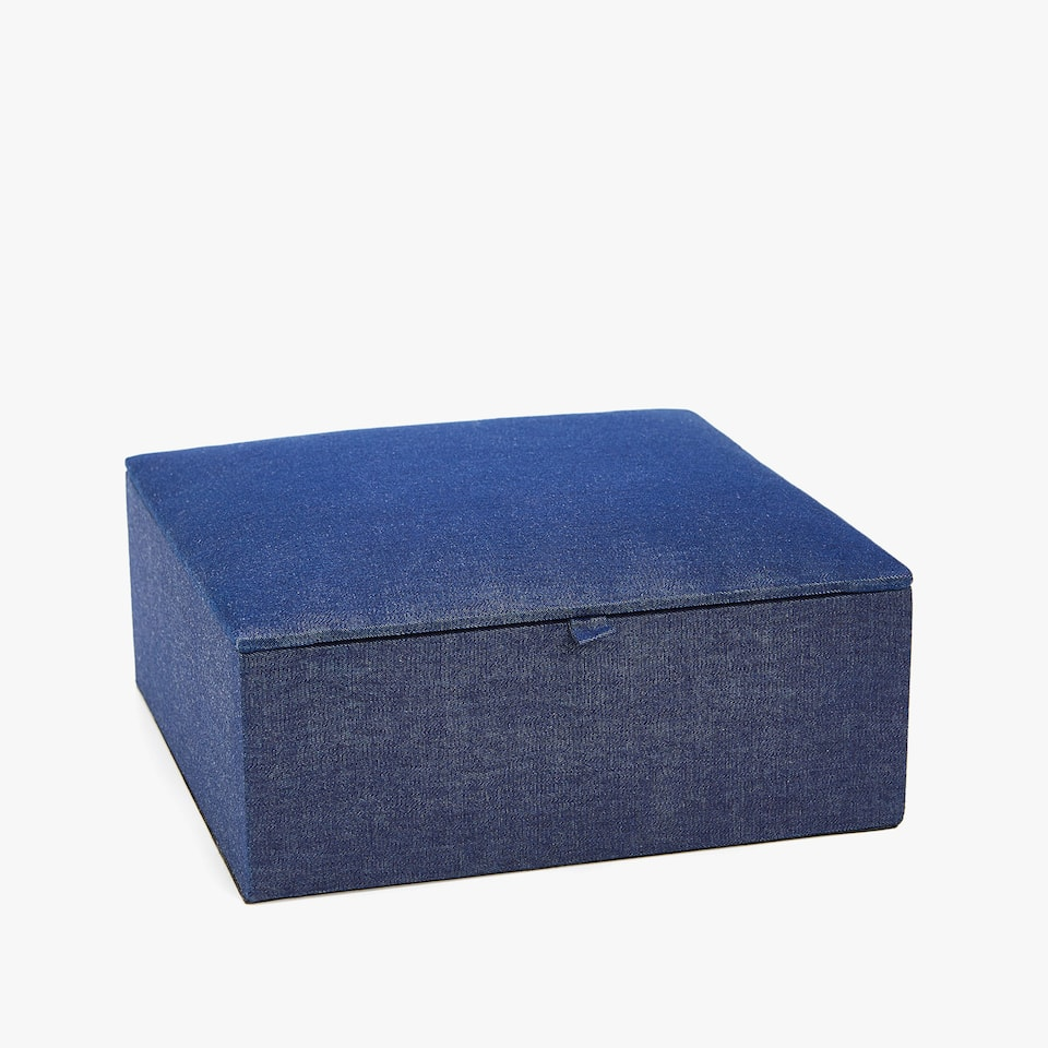 DENIM JEWELLERY BOX