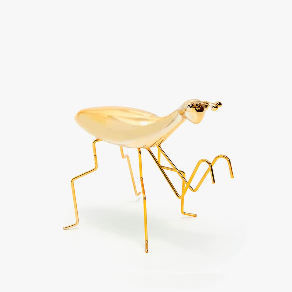 GOLD DECORATIVE INSECT