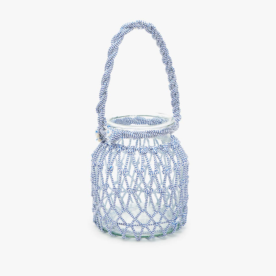 Lantern with netting