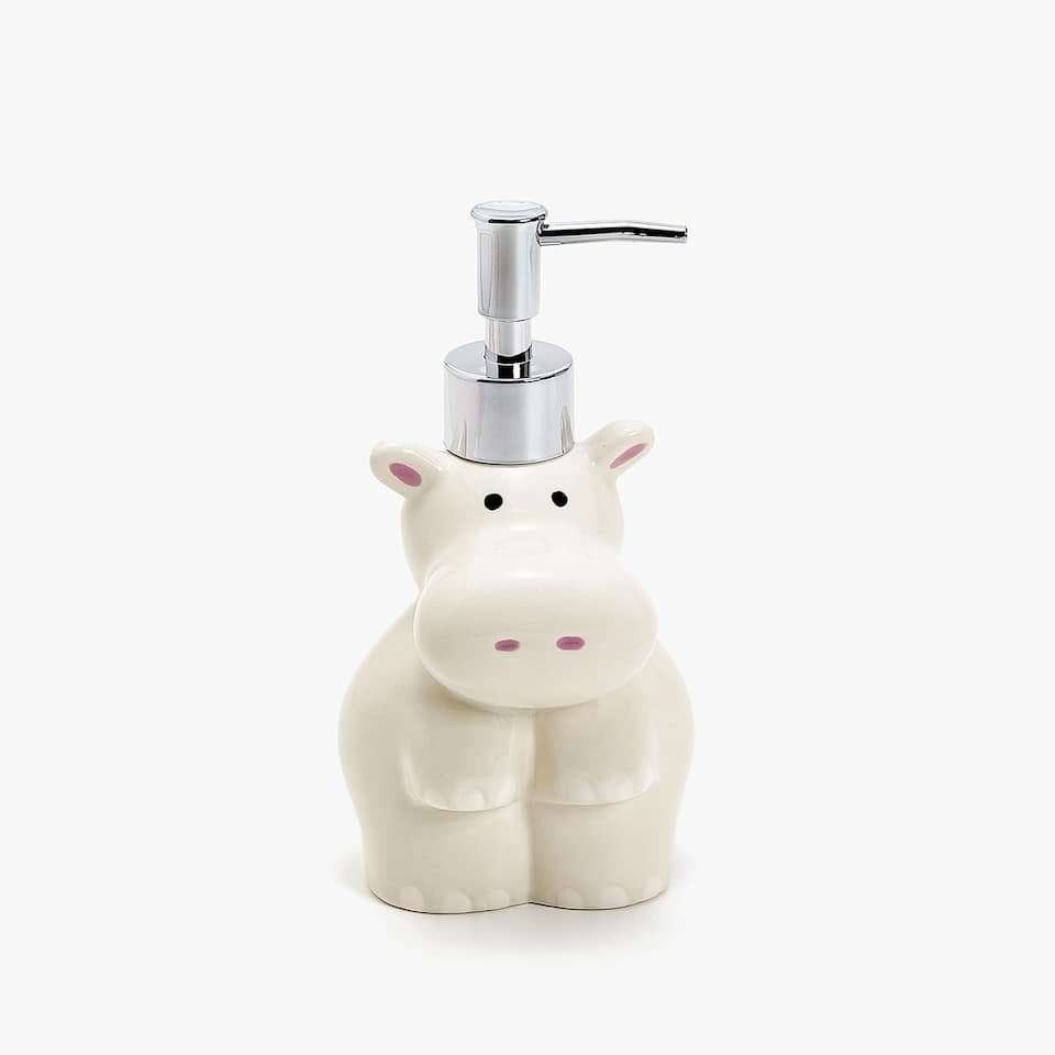 HIPPOPOTAMUS-SHAPED CERAMIC DISPENSER