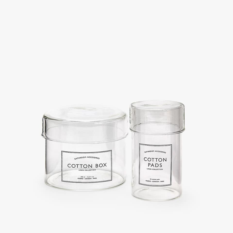 SLOGAN BOROSILICATE GLASS JAR