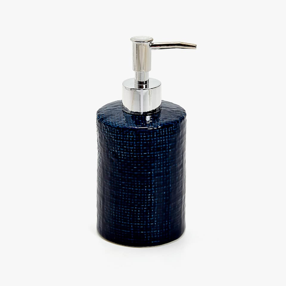 TEXTURED CERAMIC DISPENSER