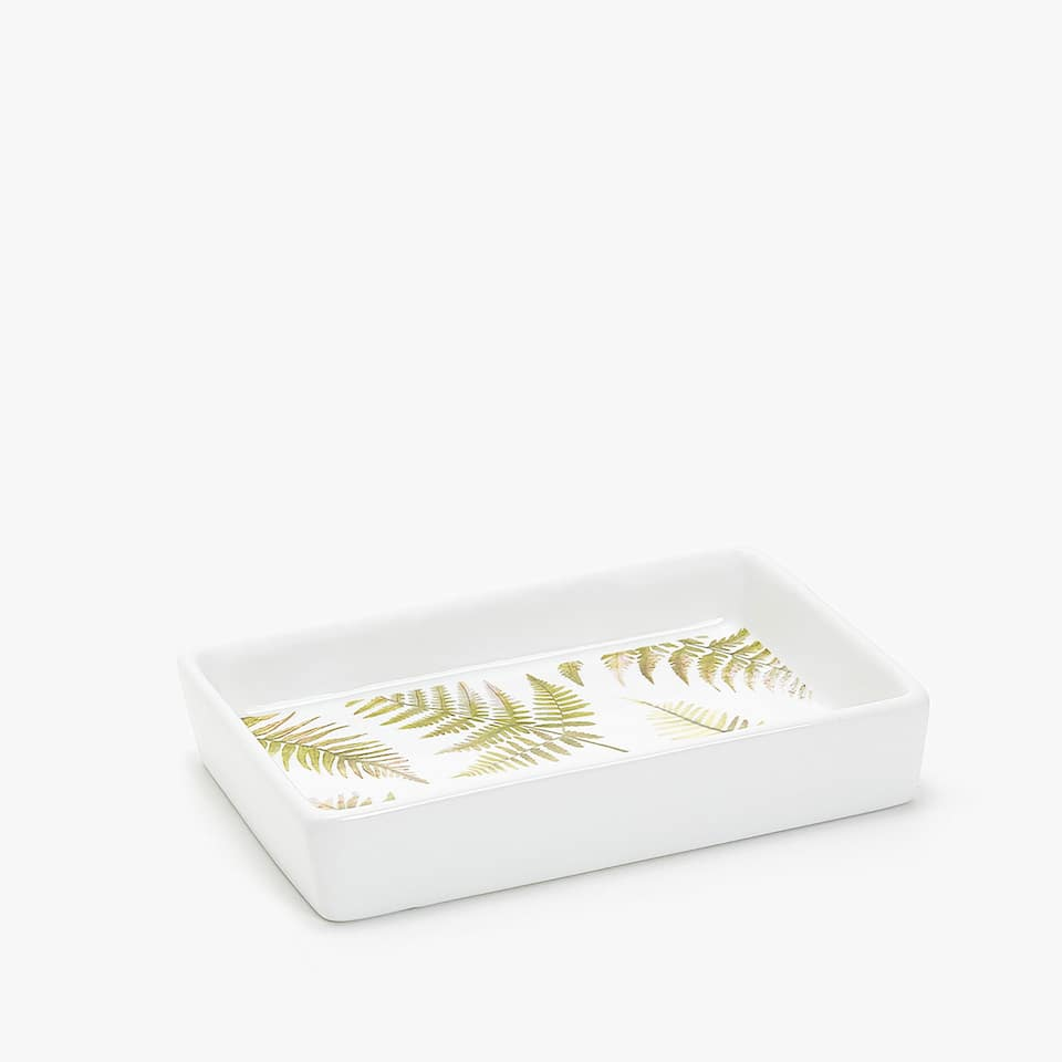 FERN TRANSFER SOAP DISH