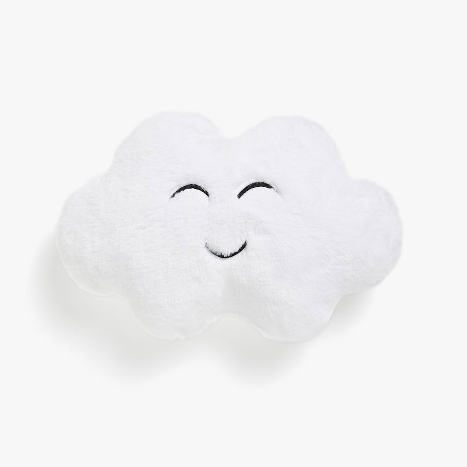 Kids cloud-shaped cushion