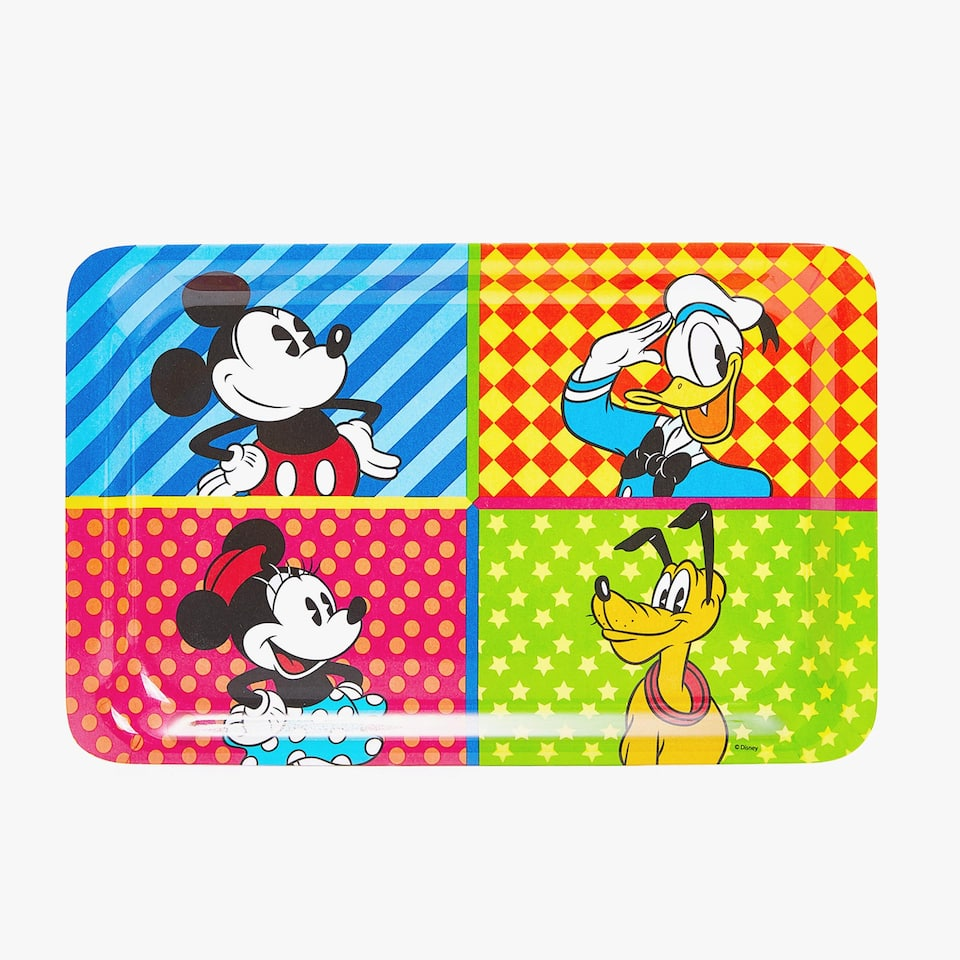 Mickey & friends melamine tray