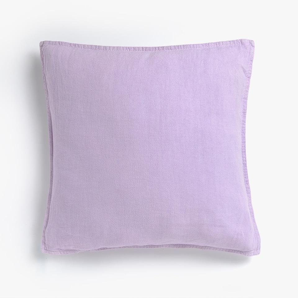 Blukinto lino pagalvėlės užvalkalas