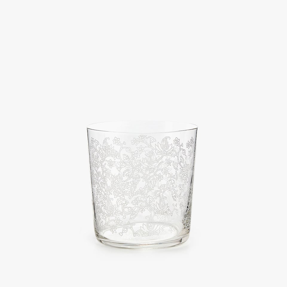 WHITE TRANSFER DESIGN TUMBLER
