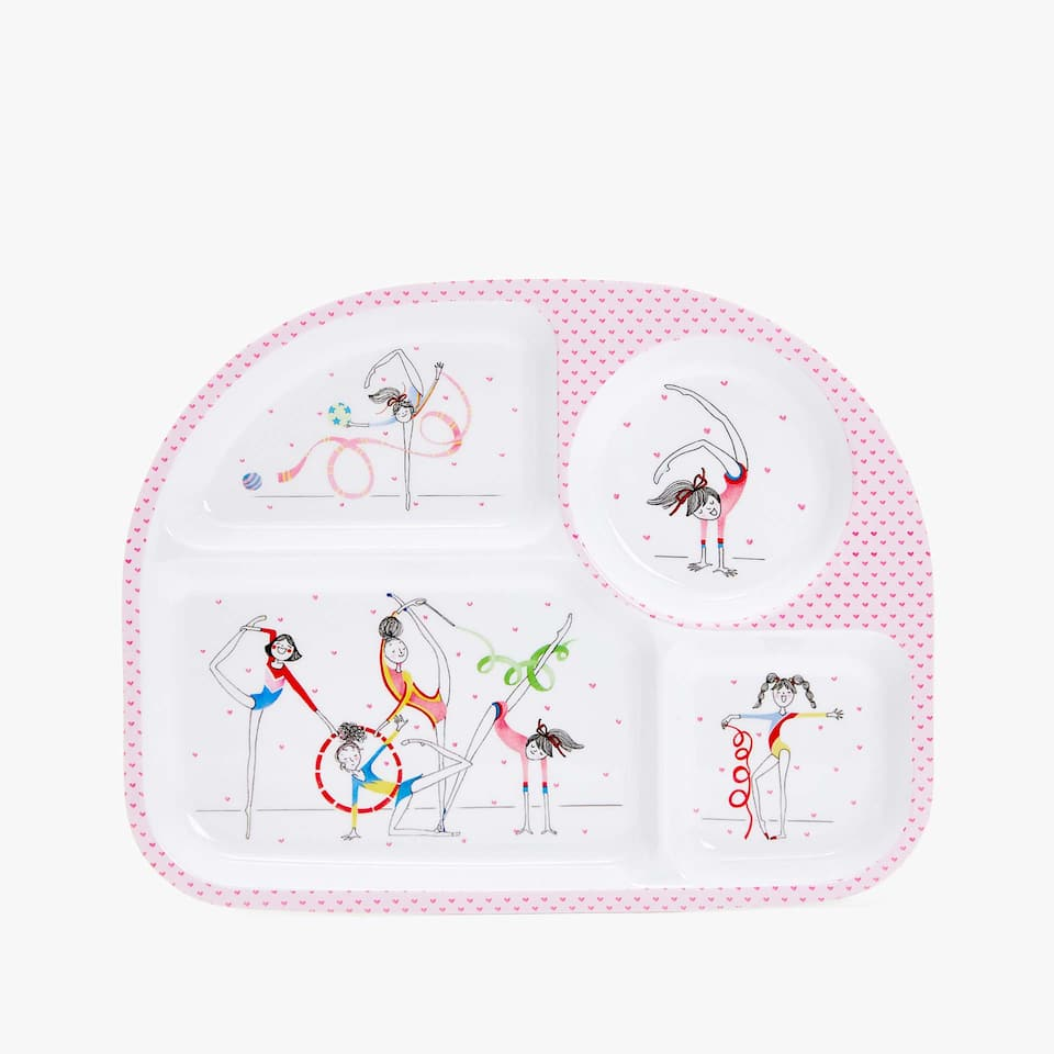 GYMNASTS TRAY