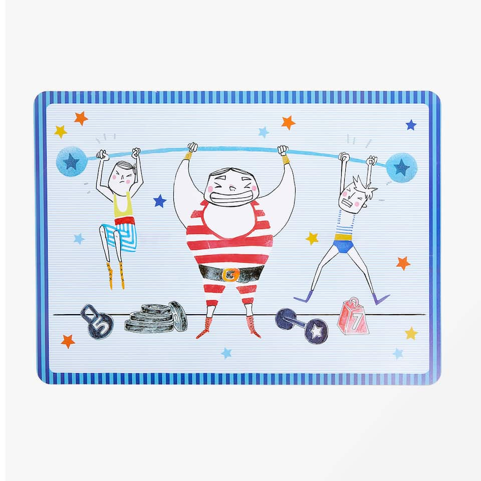 STRONGMAN PLACEMAT
