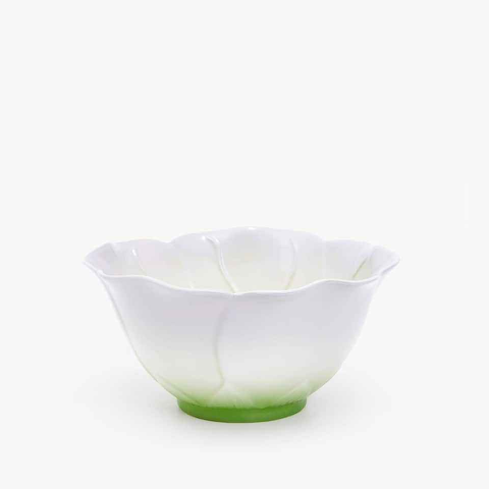 PORCELAIN FLORAL MINI BOWL