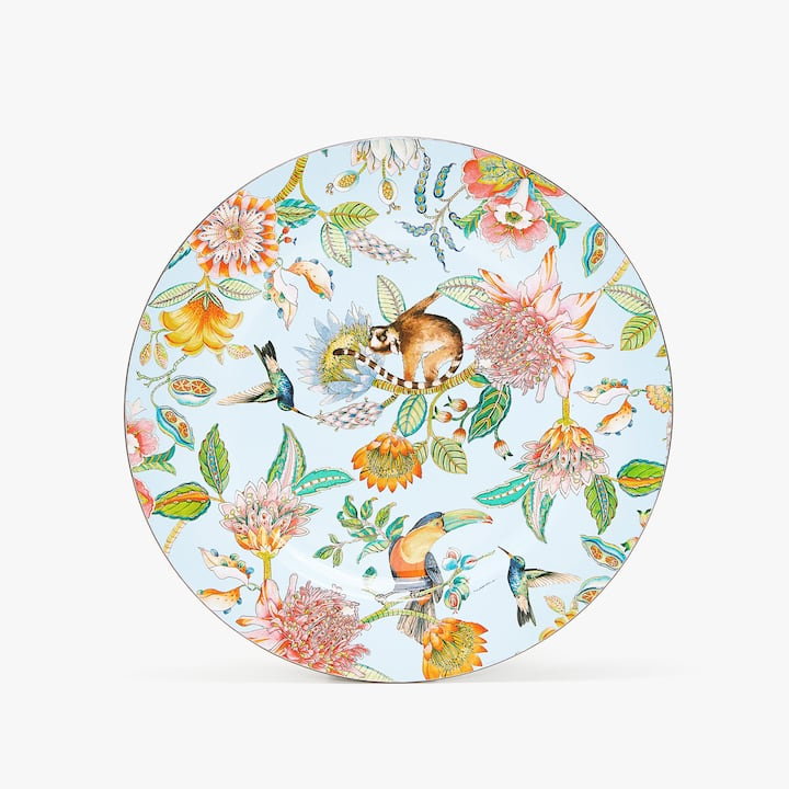 Image of the product TROPICAL PRINT CHARGER PLATE  sc 1 st  Zara Home & CHARGER PLATES - KITCHEN \u0026 DINING | Zara Home United States of America
