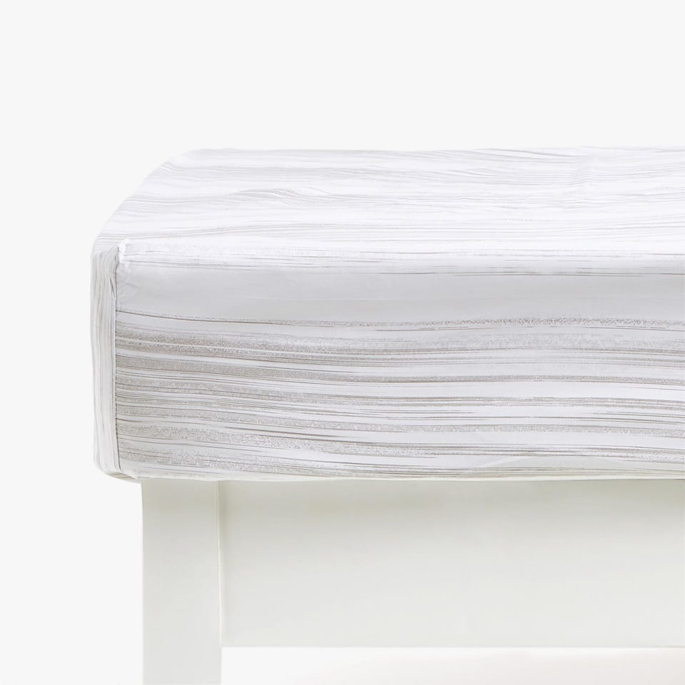 Blurred Stripe Fitted Sheet