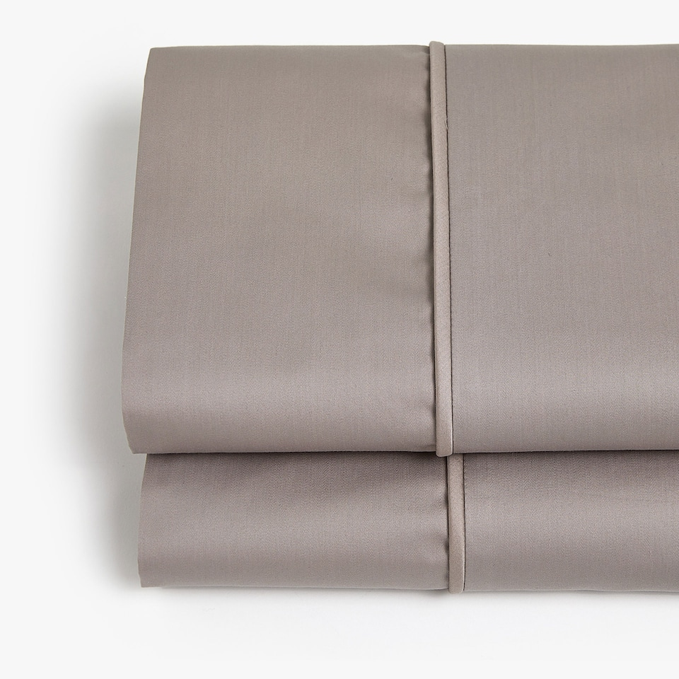 TAUPE SATEEN TOP SHEET