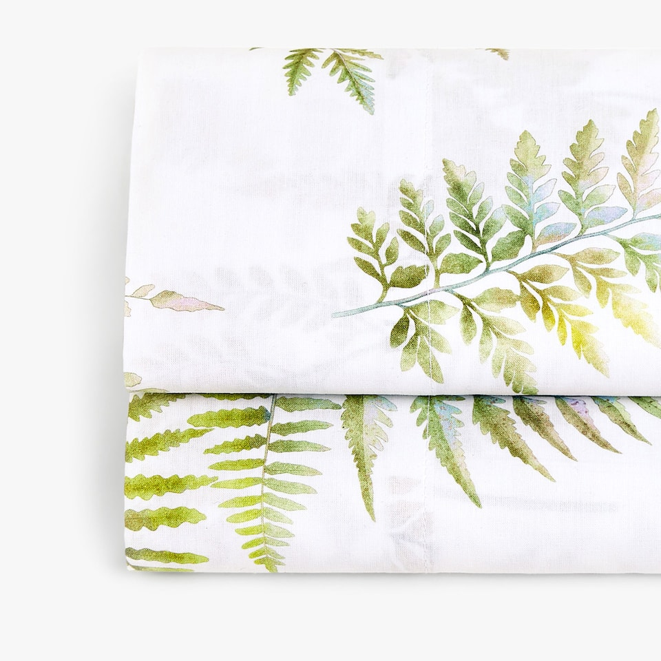 FERN PRINT TOP SHEET