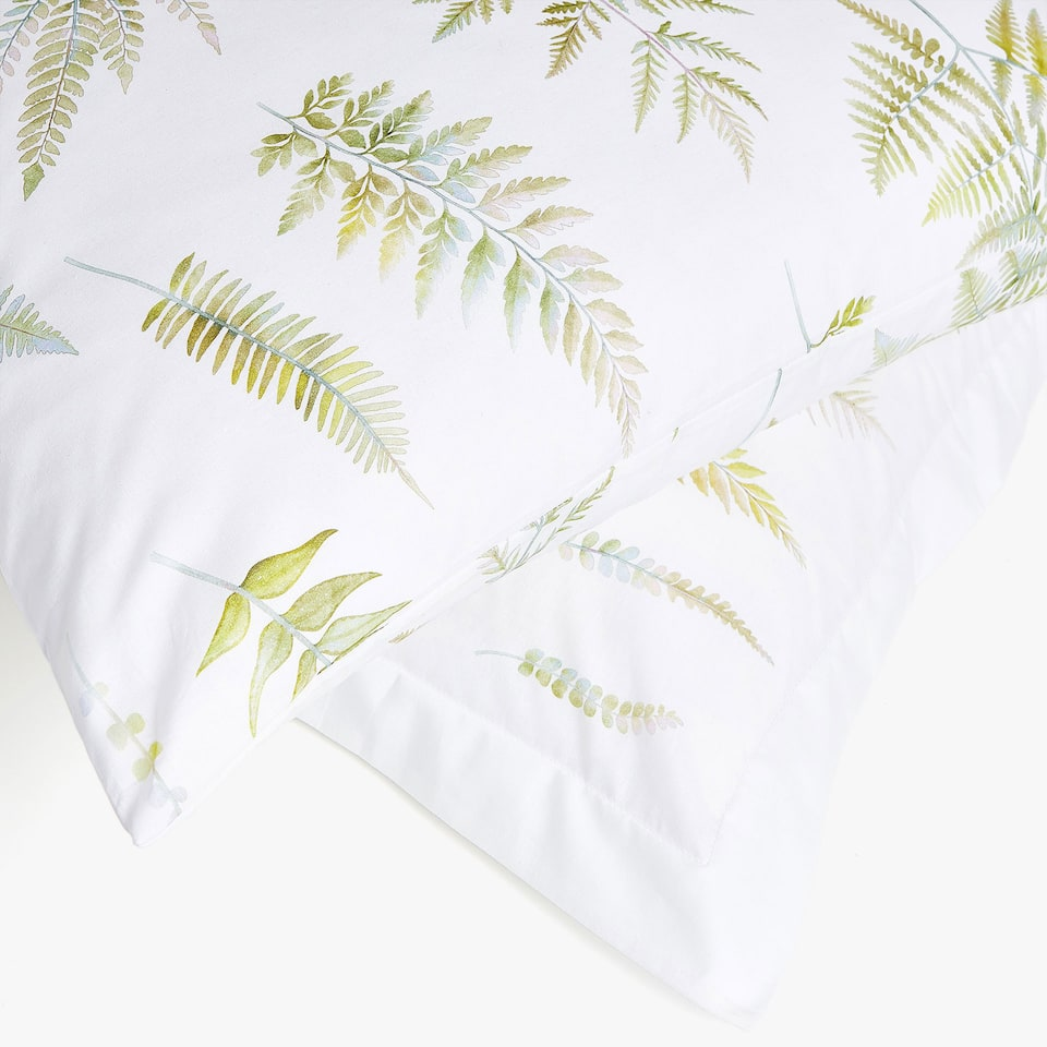 FERN PRINT PILLOWCASE