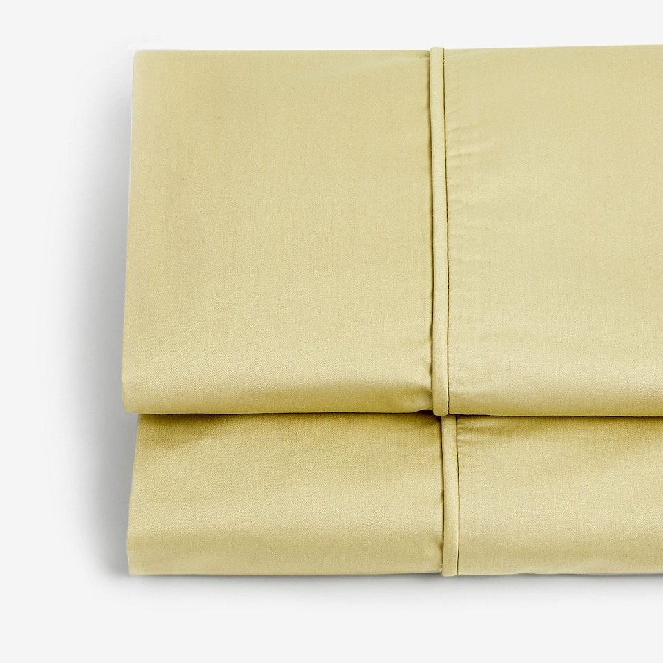 GREEN SATEEN FLAT SHEET