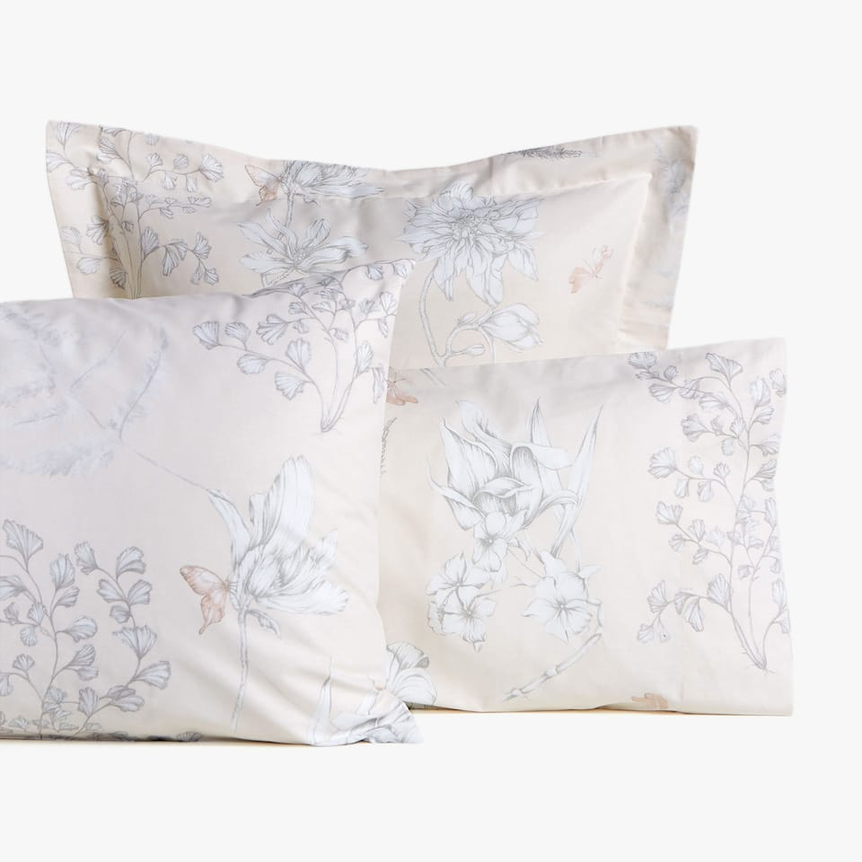 VEGETATION PRINT PILLOWCASE