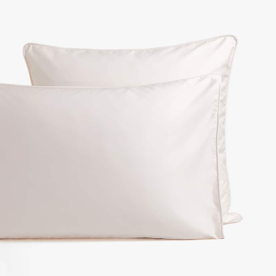 PINK SATEEN PILLOWCASE