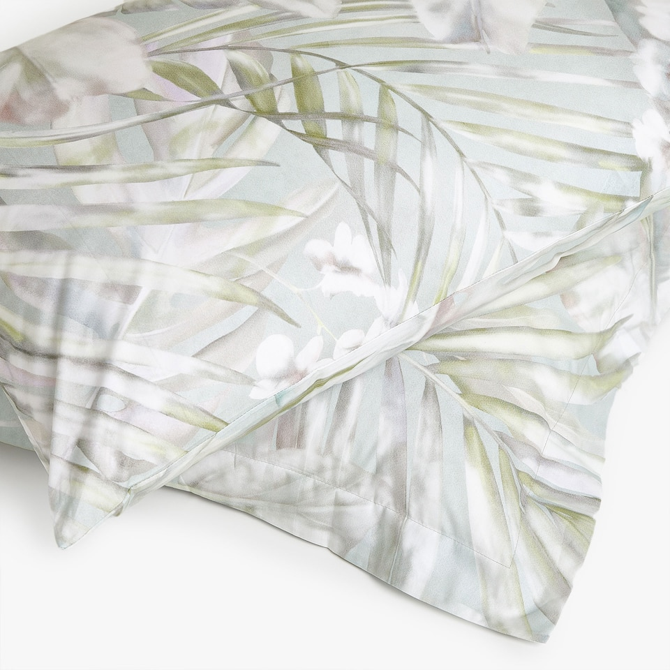 DIGITAL TROPICAL PRINT PILLOWCASE
