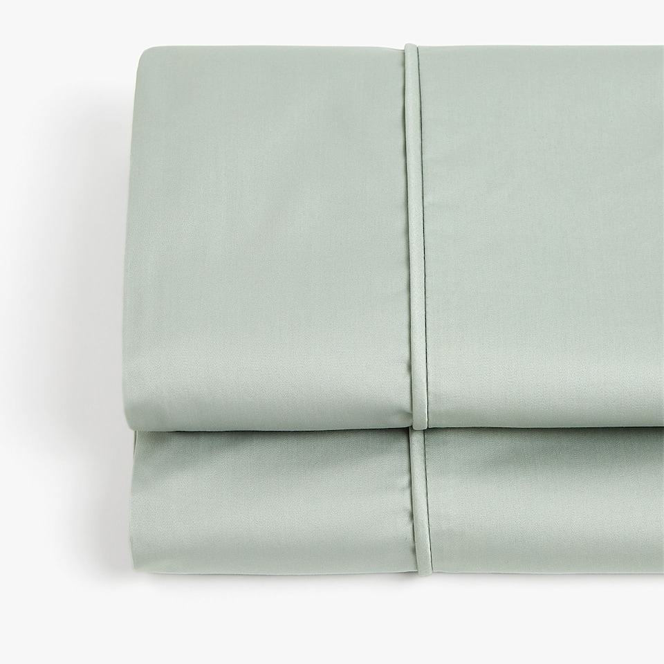 BLUE SATEEN FLAT SHEET