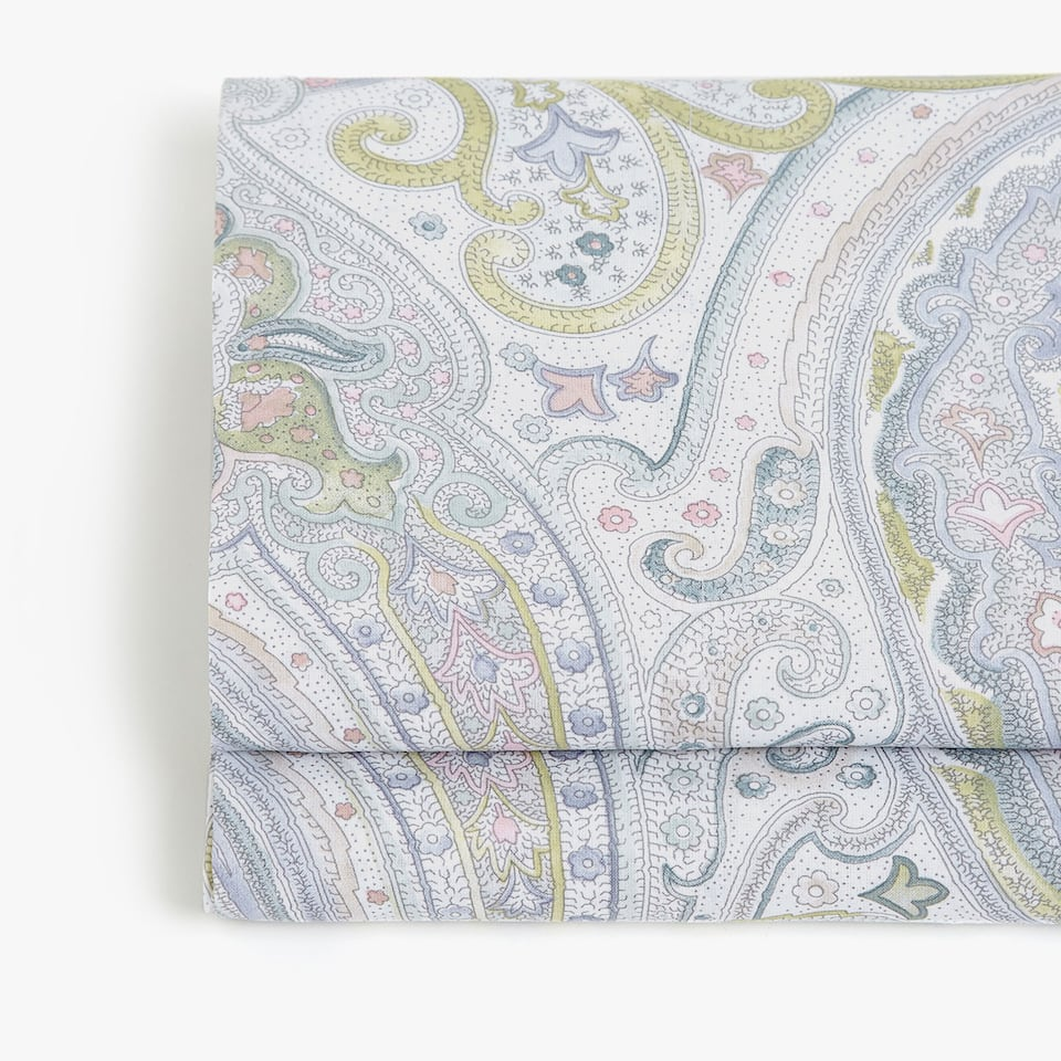 PAISLEY PRINT TOP SHEET