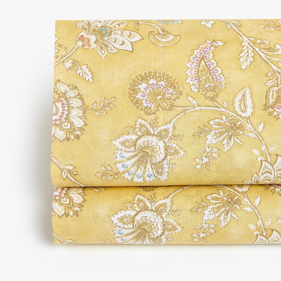 WILDFLOWER PRINT FLAT SHEET
