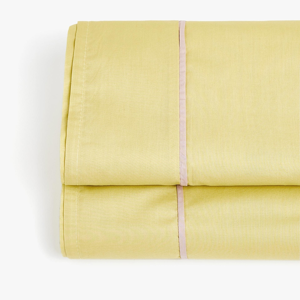 LIME GREEN POPLIN TOP SHEET