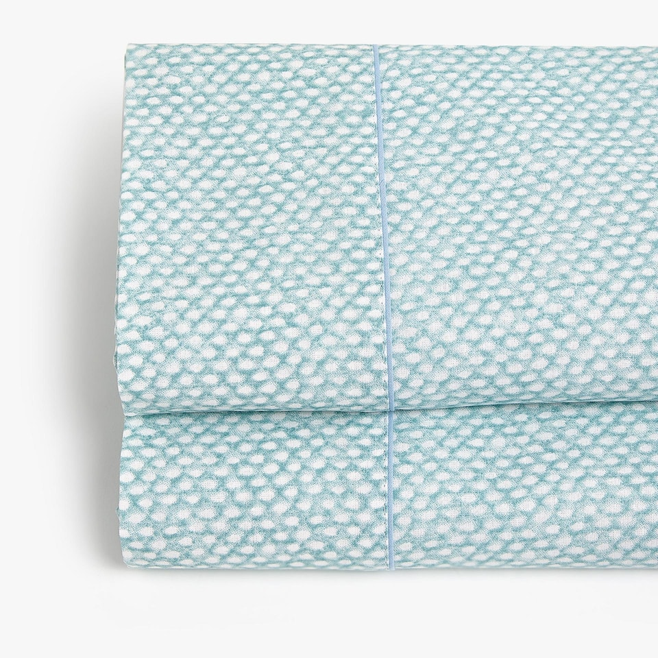 SEA GREEN PRINTED TOP SHEET