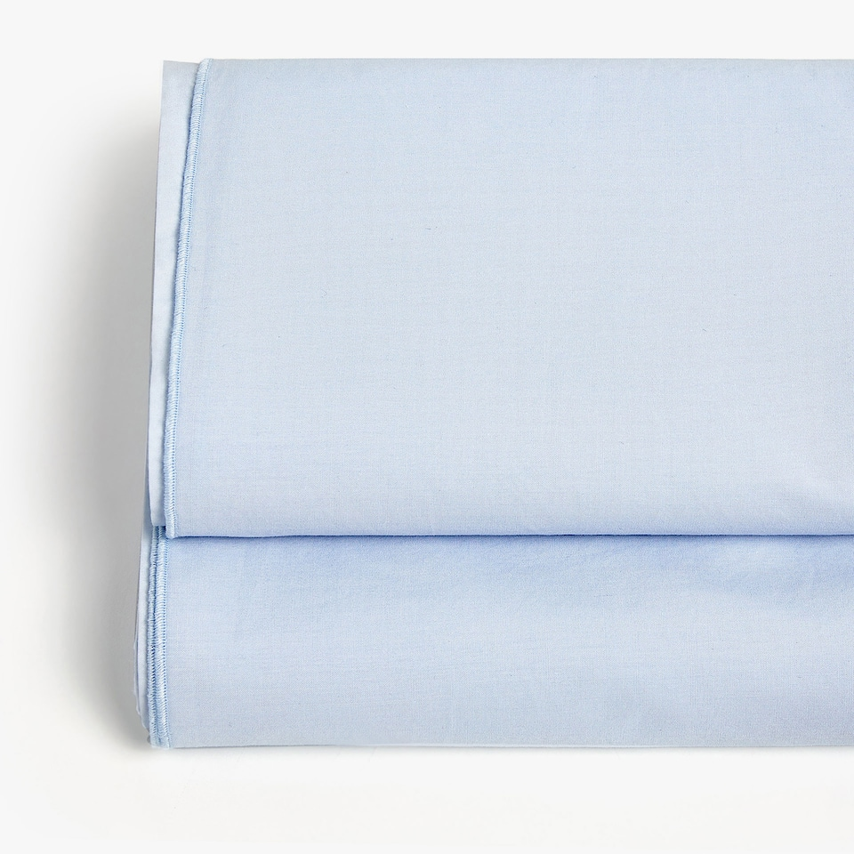 BLUE POPLIN TOP SHEET