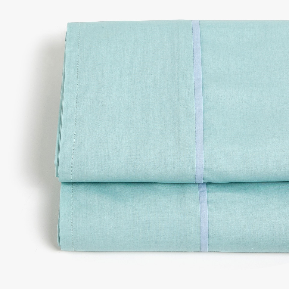 GREEN POPLIN TOP SHEET