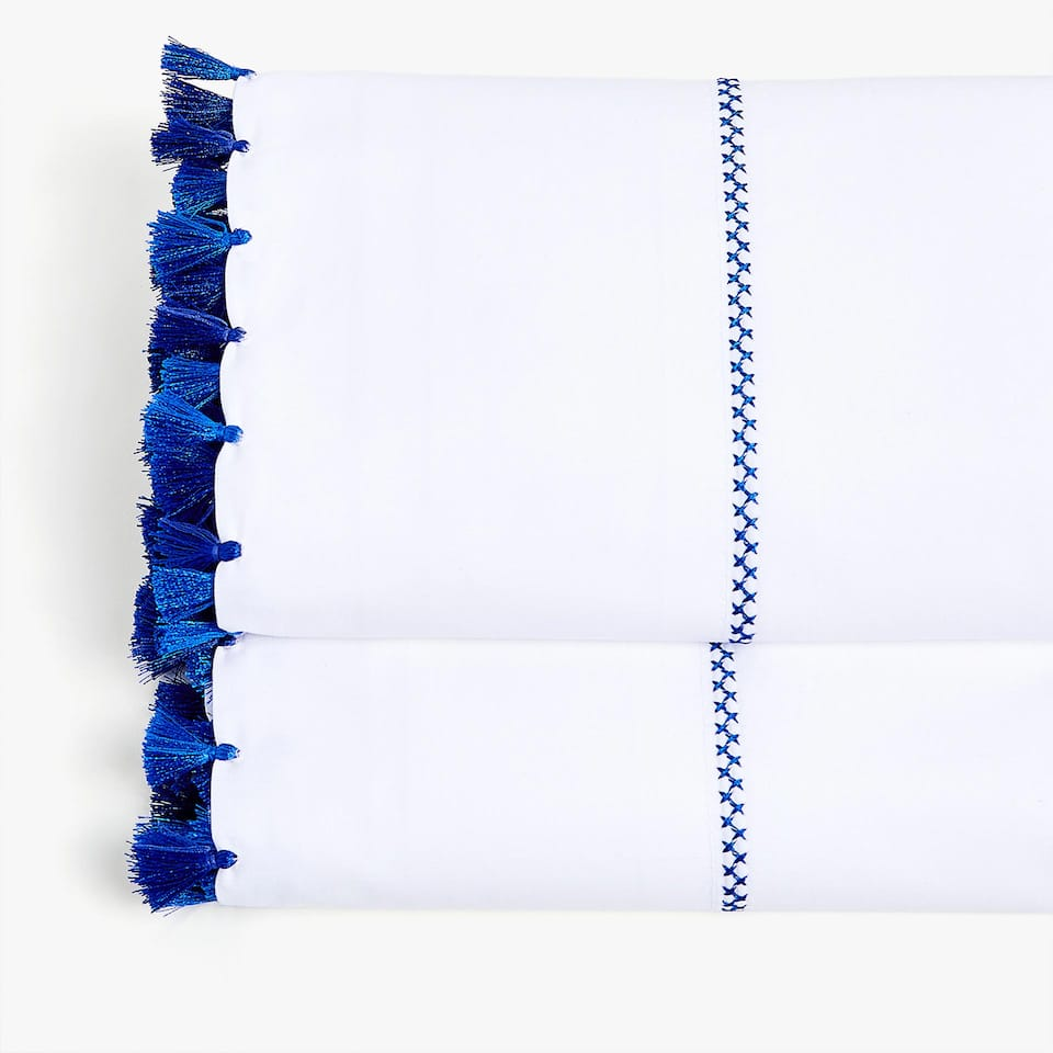 BLUE TASSEL TOP SHEET