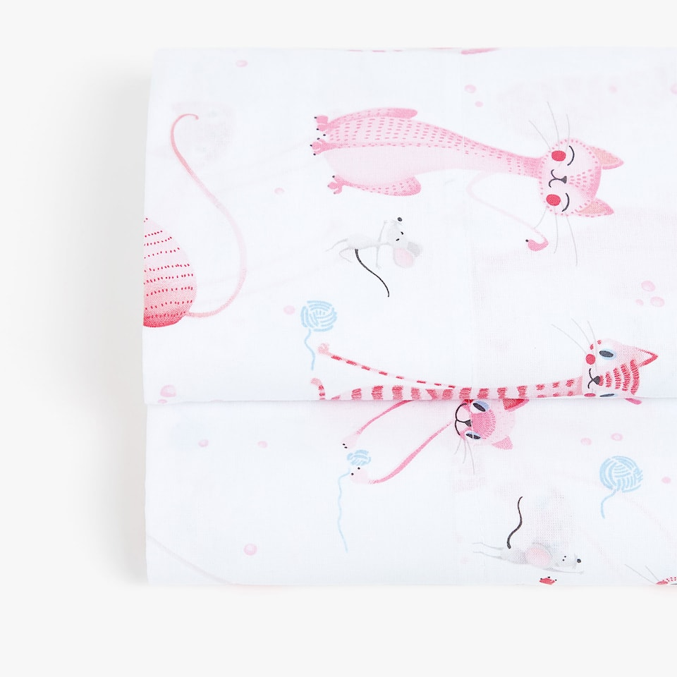CAT PRINT TOP SHEET