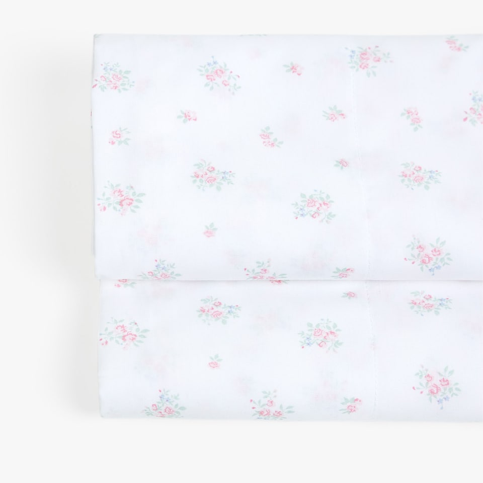 FLOWER PRINT TOP SHEET