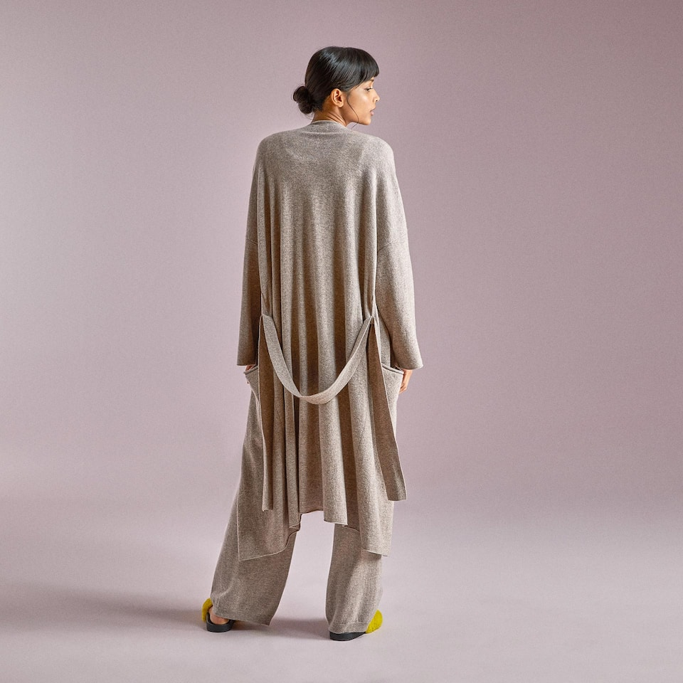 CASHMERE DRESSING GOWN