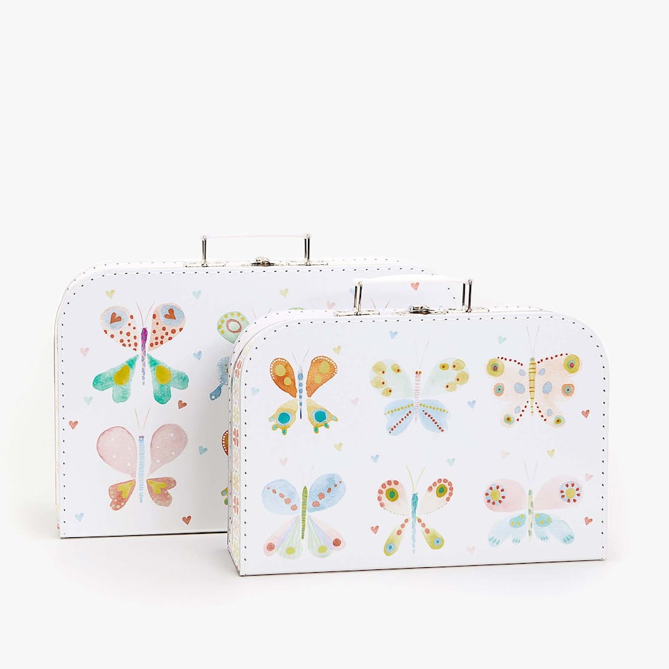 Butterflies briefcase