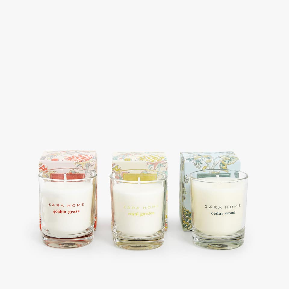 PACK OF THREE TEALIGHTS