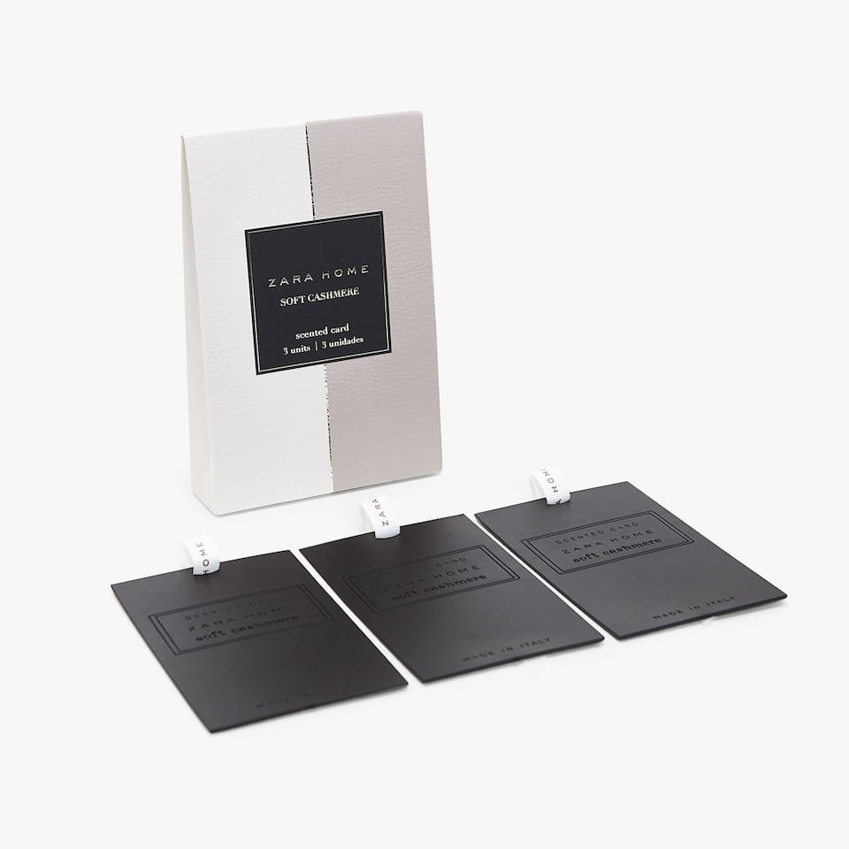 SOFT CASHMERE SCENTED CARDS