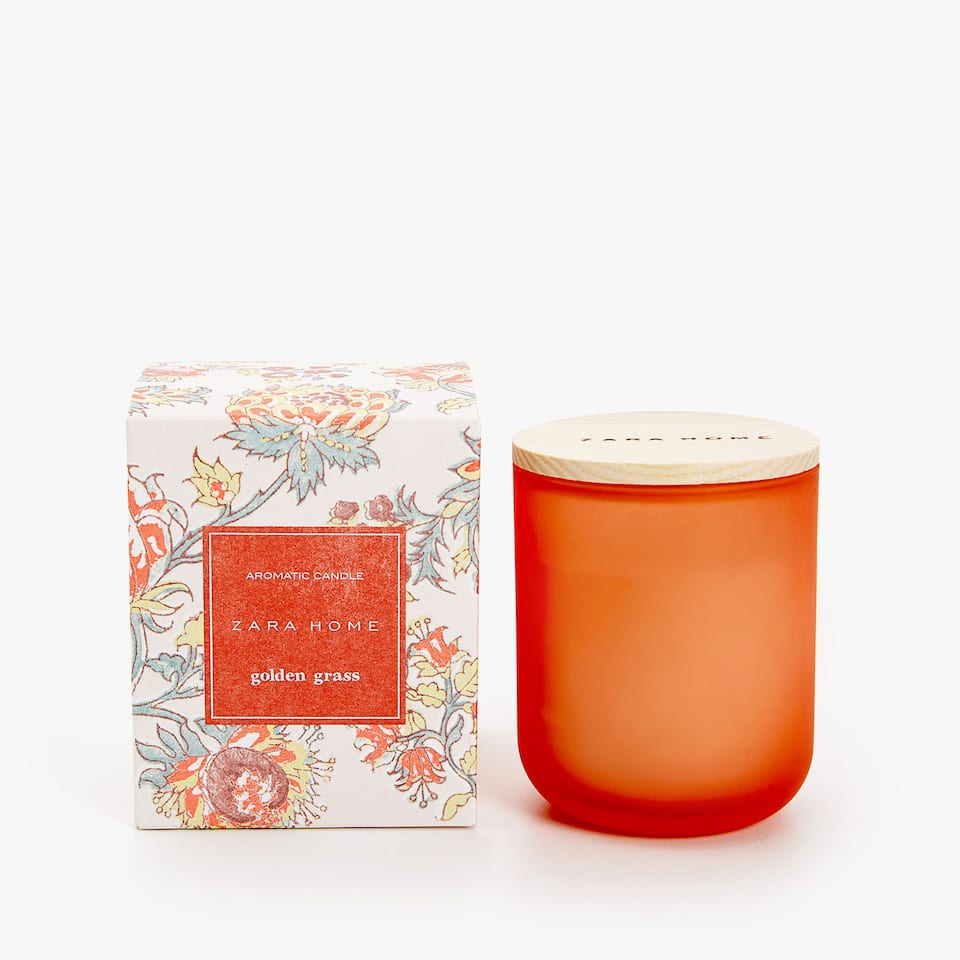 GOLDEN GRASS AROMATIC CANDLE